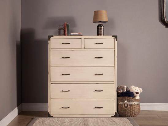 franklin & ben providence tall dresser white