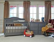 MDB Louis 4 in 1 Convertible Crib