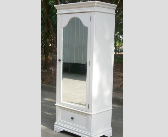 stella baby and child athena armoire side view