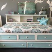 winchester lounge bed with drawers and trundle