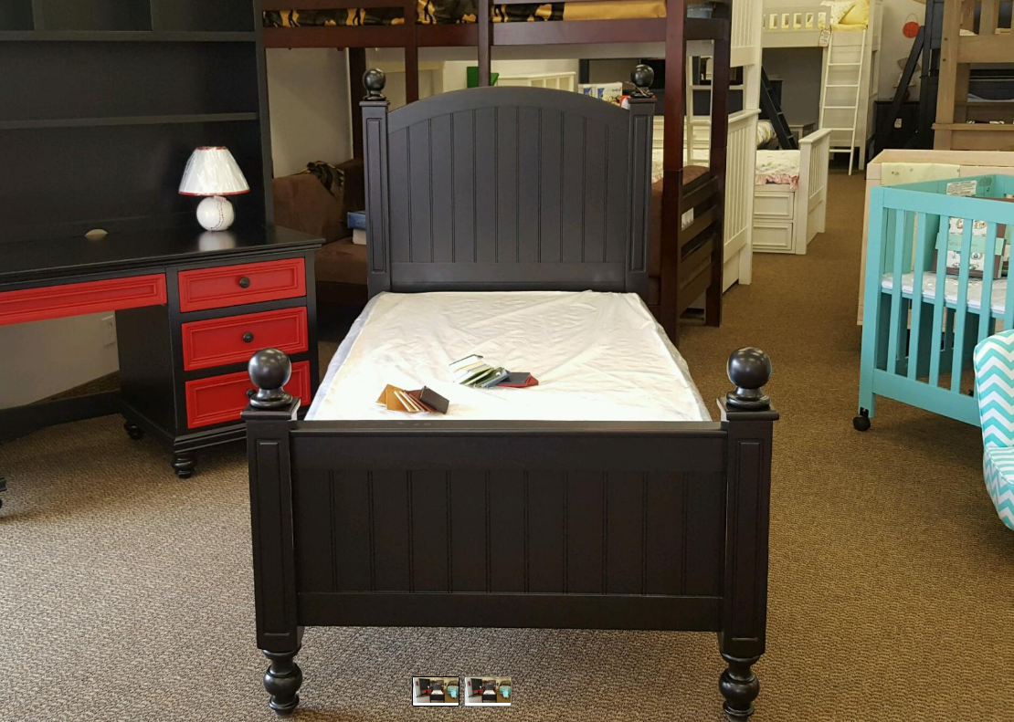 Kenmare 4 Poster Round Top Bed Kids Furniture In Los Angeles