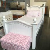 country hill round top poster bed