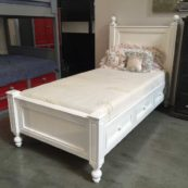 kenmare low profile bed with storage