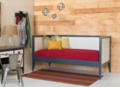 newport cottages devon daybed two tone