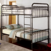 Aria Metal Bunk bed