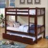 elliott twin over twin bunk bed in espresso