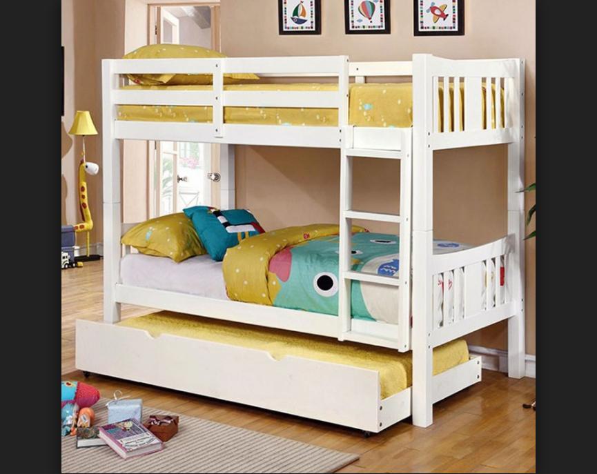 Elliott Twin Over Twin Bunk Kids Furniture In Los Angeles