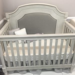 Jameson Lifetime Crib in Misty Grey