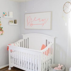 Laska Crib in White