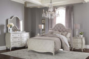 angela tufted bed