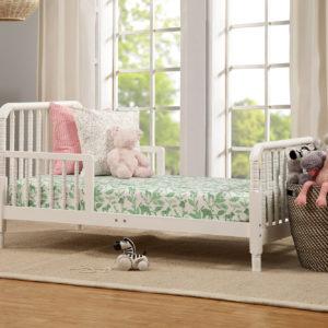 davinci jenny lind toddler bed in white