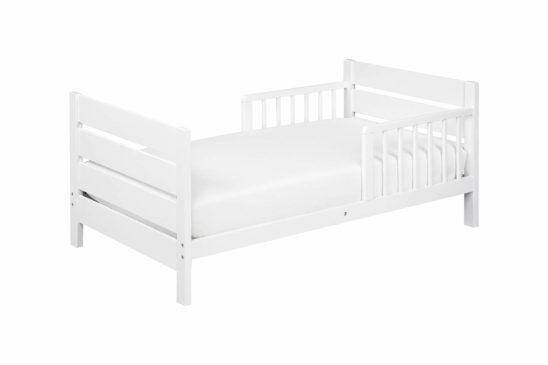 davinci modena toddler bed in white