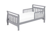 davinci sleigh toddler bed in grey