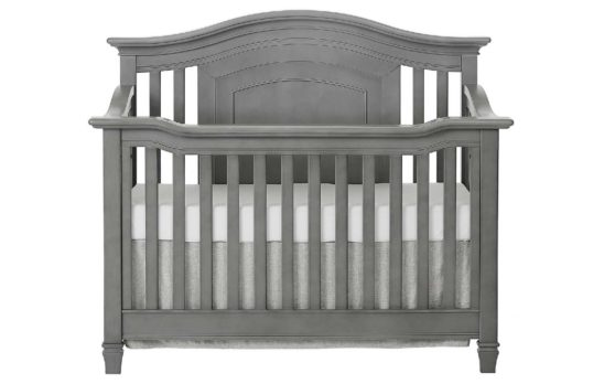 evolur-fairbanks-crib-in-steel-grey