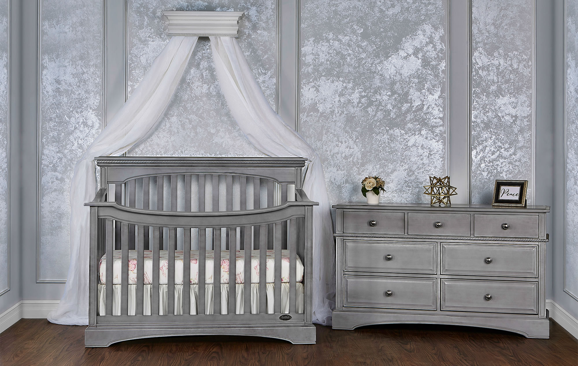 Rosalene 4 In 1 Convertible Crib Kids Furniture In Los