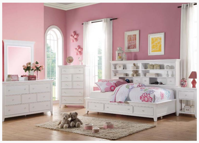 Lorie Bookcase Daybed With Drawers Kids Furniture In Los