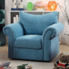alma kids chair in blue