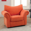 alma kids chair in orange
