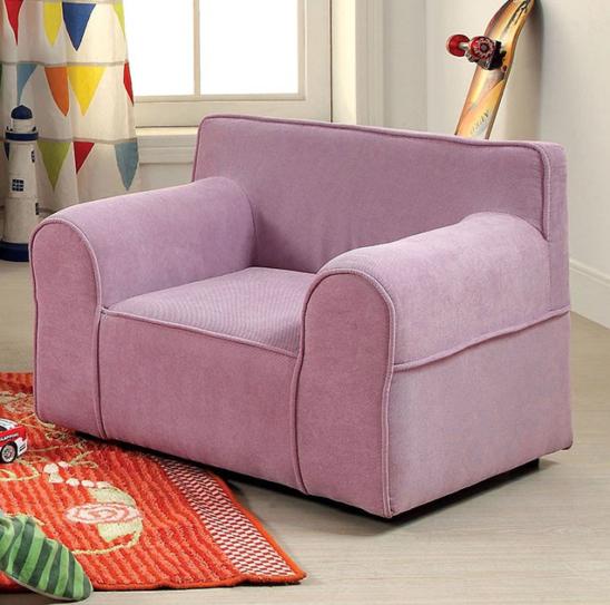 edna kids chair in purple