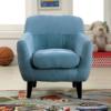 ida kids chair in blue
