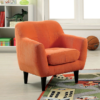 ida kids chair in orange