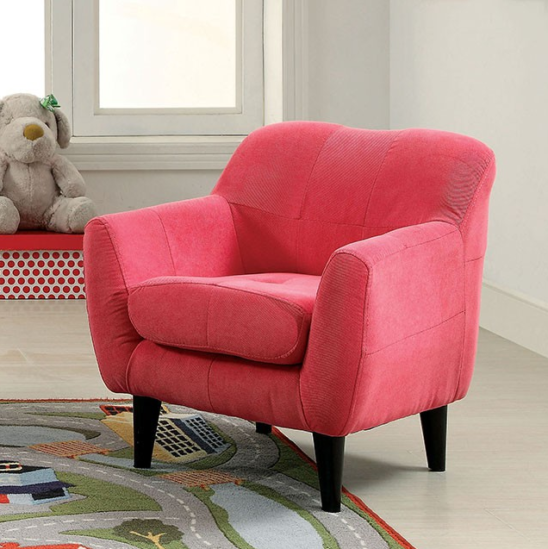 ida kids chair in pink