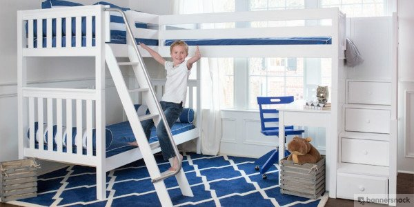 Kids Furniture Los Angeles Solid Wood Bunk Beds Loft Beds Cribs