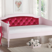 wynona pink tufted daybed