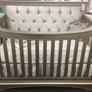 Royalton Custom Tufted lifetime convertible crib