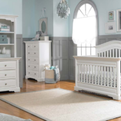 dolce babi venezia convertible crib in snow white