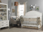 dolce babi lucca convertible crib in white