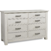 dolce babi lucca double dresser in white