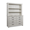 dolce babi lucca double dresser with hutch