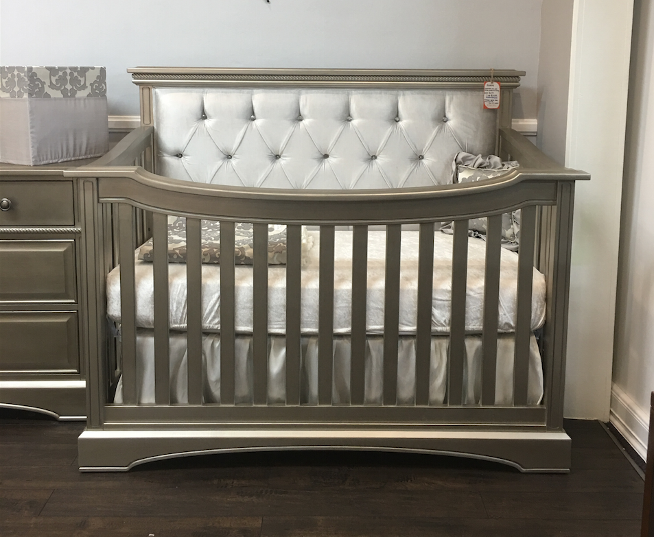 Royalton Custom Tufted Lifetime Convertible Crib Kids