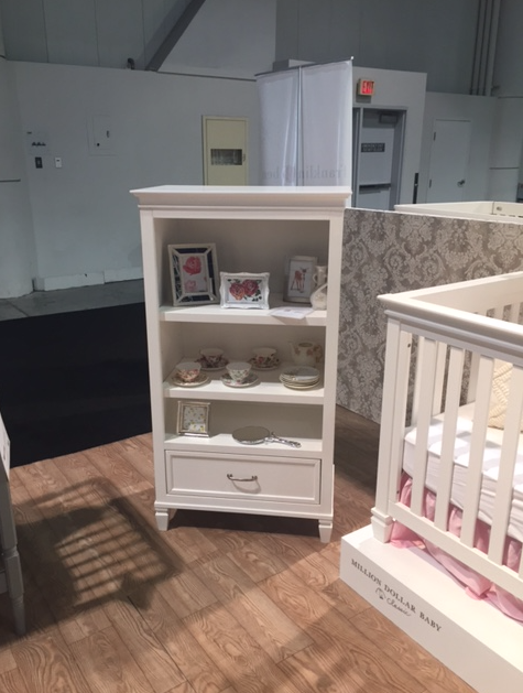 million dollar baby darlington bookcase