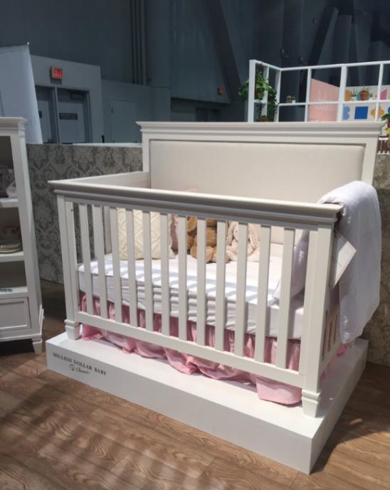 million dollar baby darlington crib white