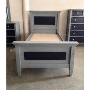 Lincoln panel twin size bed