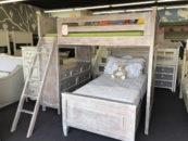 porter rustic loft bed