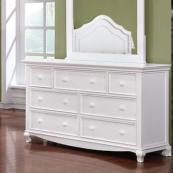 Adriana Double Dresser in White Room Photo