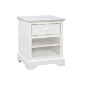 Charlie Nightstand in White