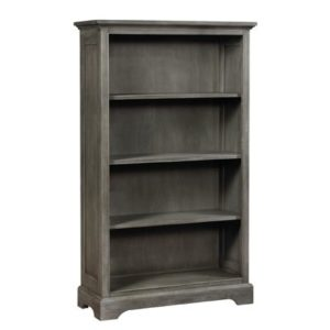 Charlie Vertical Bookcase in Weathered Grey