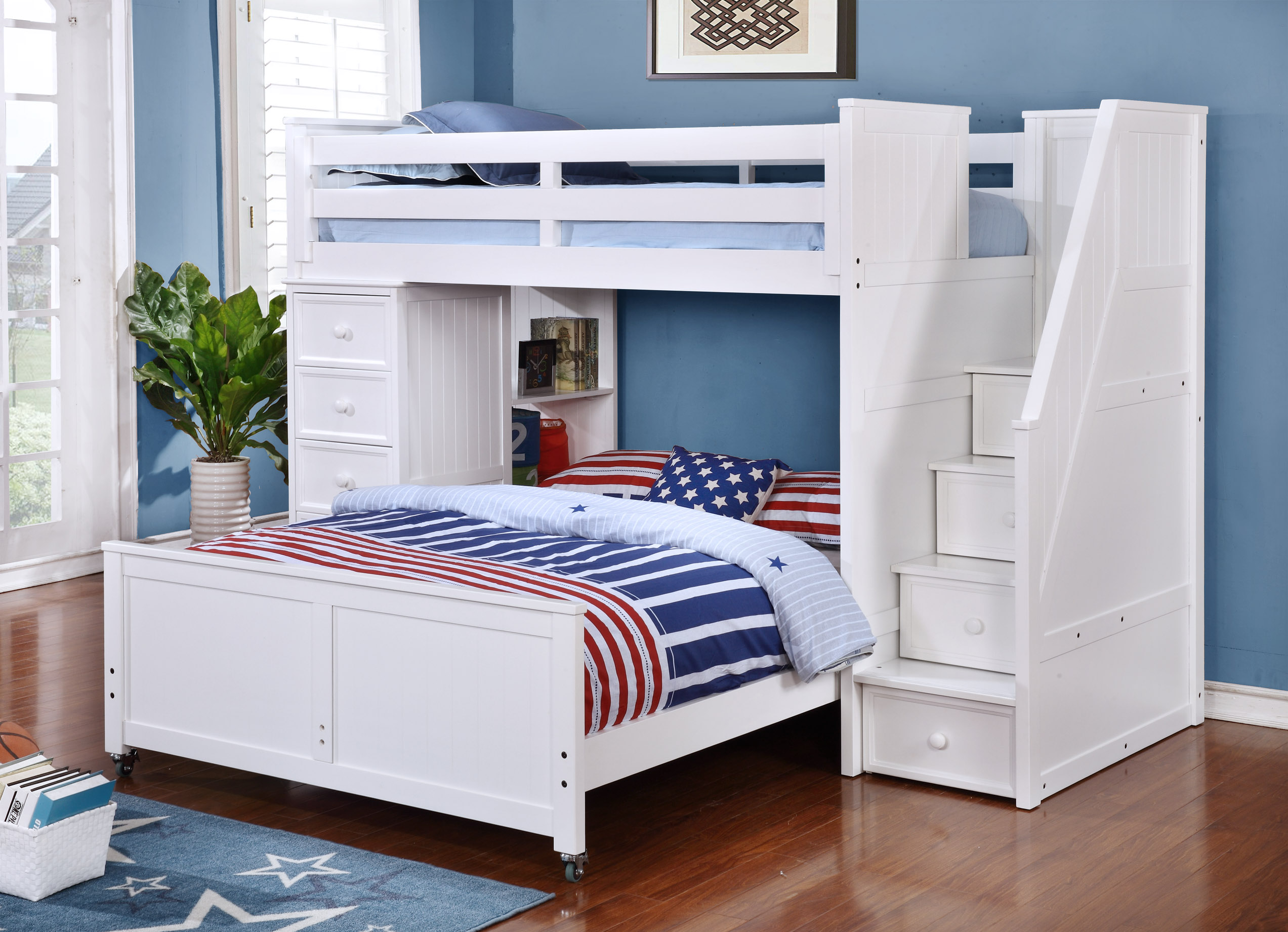 Multifunction Staircase Loft Bed