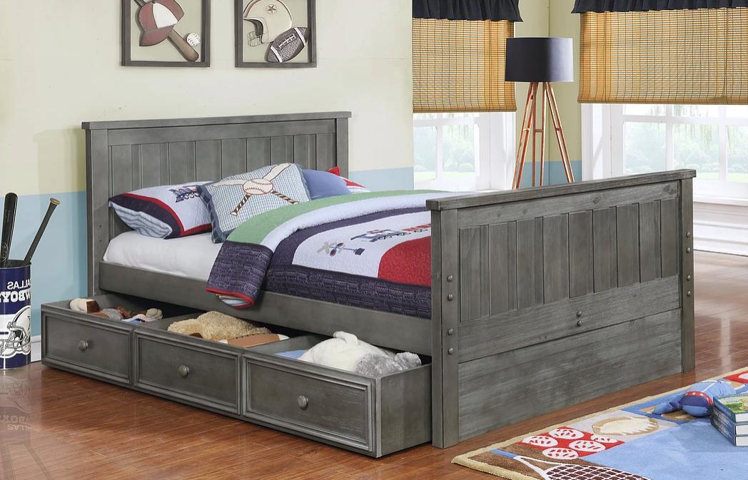 jackson full size panel bed. Black Bedroom Furniture Sets. Home Design Ideas