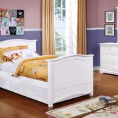 Sydney Twin Bed White