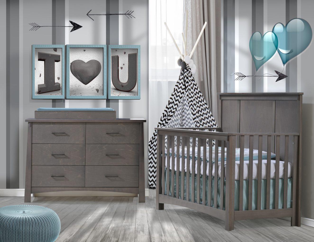 Nest Juvenile Bruges Collection In Grigio Kids Furniture