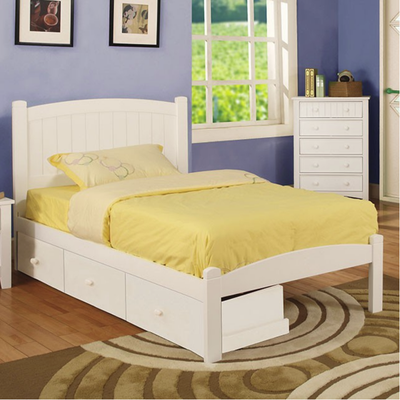 Product   Beadboard Bunk Bed Twin Full White
