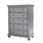 Meadow 5 Drawer Chest in Cloud