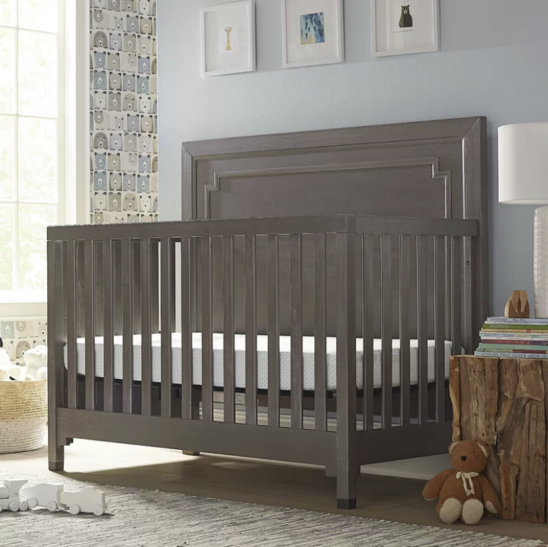 Beckett 3-in-1 Convertible Crib in Washed Grey