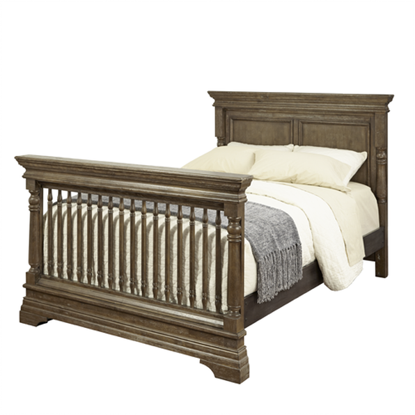 Kid Cafe Furniture: Kerri 4-in-1 Convertible Crib In Cafe Au Lait