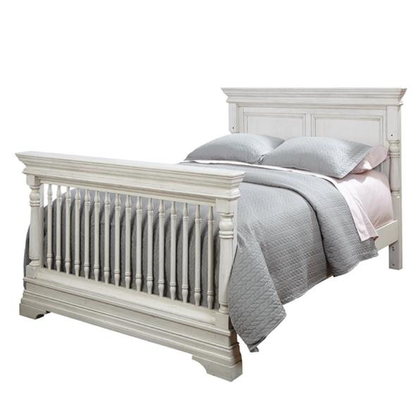 Kerri 4 In 1 Convertible Crib Rustic White
